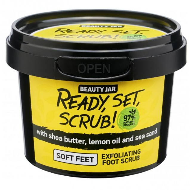 "Скраб для ног ""Ready, Set, Scrub!"""